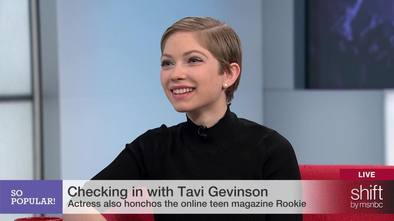 Tavi Gevinson: 'Queen of the millennials'