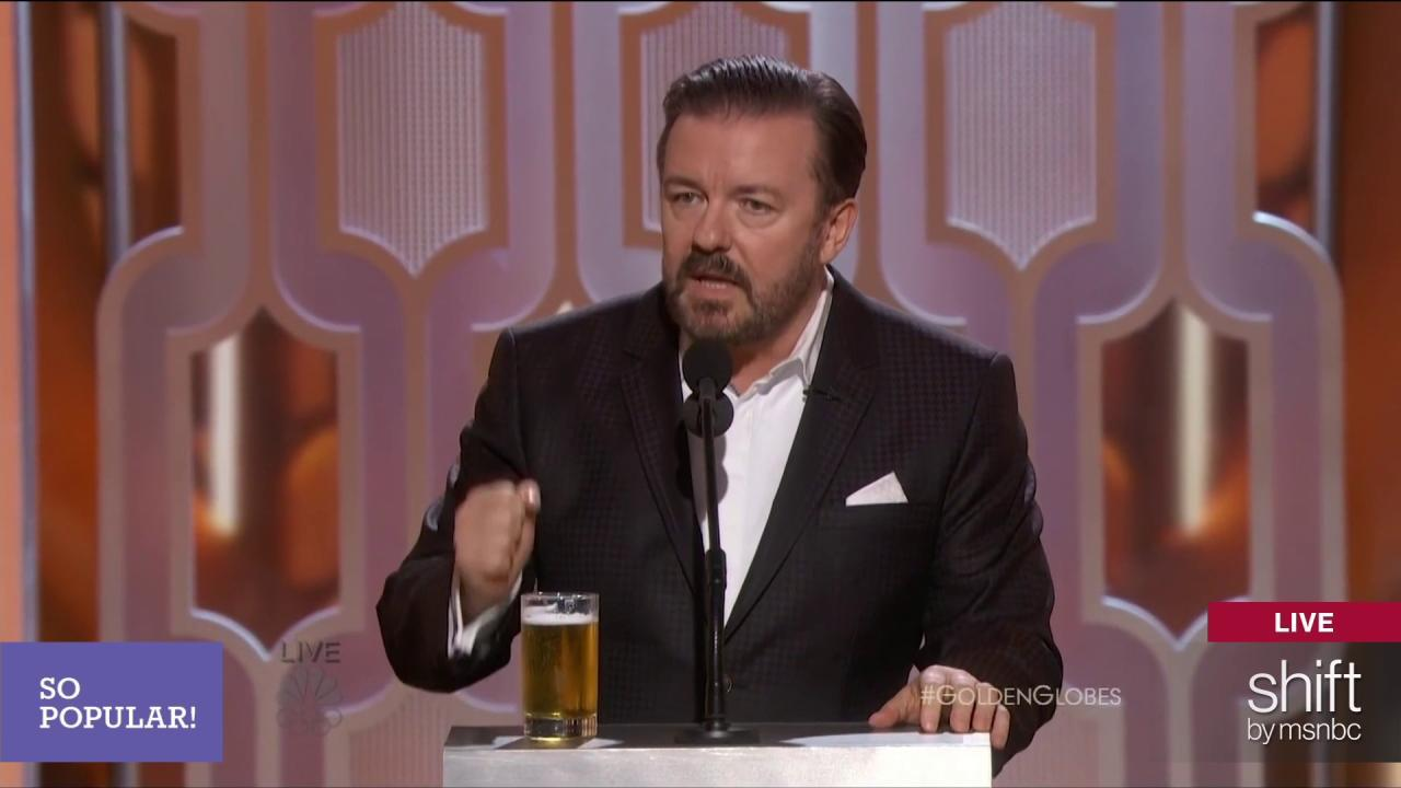 The Clique: Ricky Gervais and women in TV