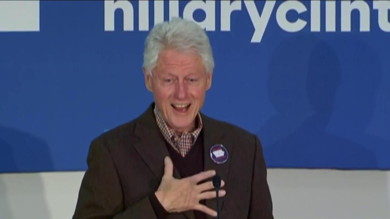 Bill Clinton shares memory of meeting Hillary