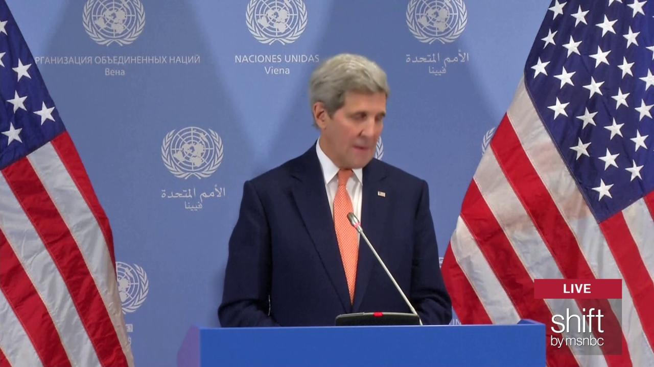 Kerry: 'We have reached implementation day'