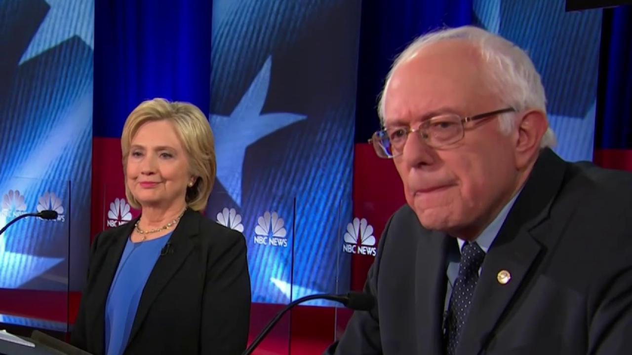 Sanders Thrives in Democratic Debate, Despite Sharp Attacks by Clinton