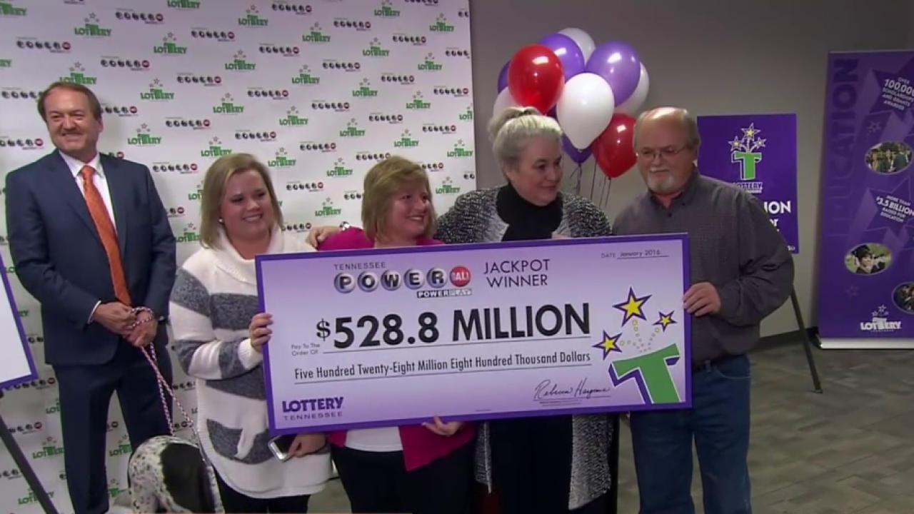 $1 6 billion Powerball: California couple claims winning ticket 6