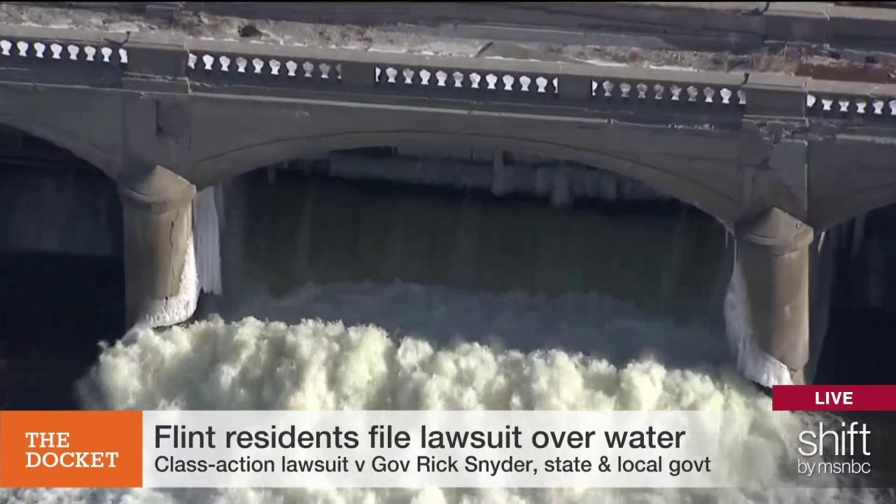 "Flint water crisis a ""Lifetime of health..."