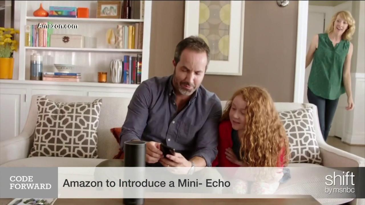 Amazon set to introduce 'mini' Echo