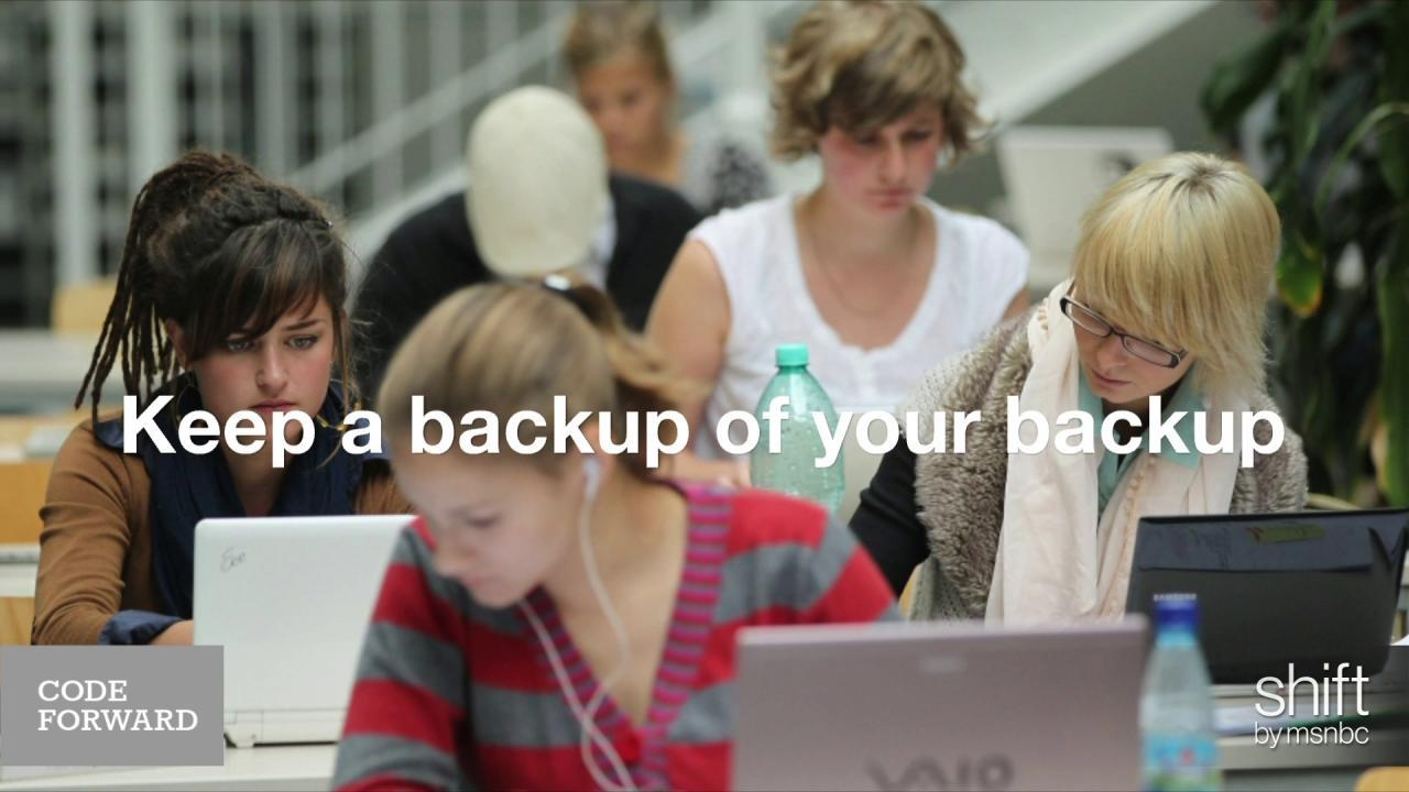 A New Year's resolution: Back up your data!