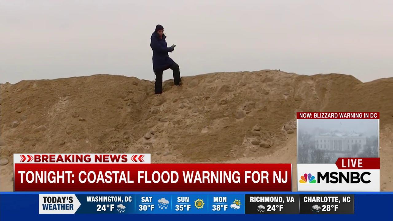 NJ faces coastal flood warnings