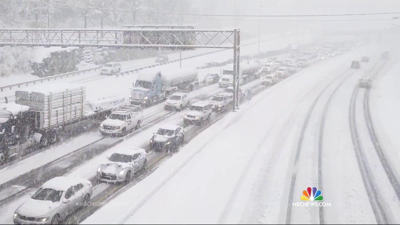 Blizzard 2016: Millions in the Path of Monster Snowstorm
