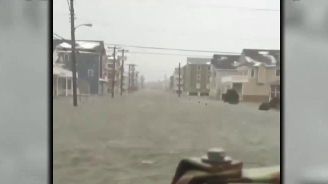 Storm brings serious flooding to NJ