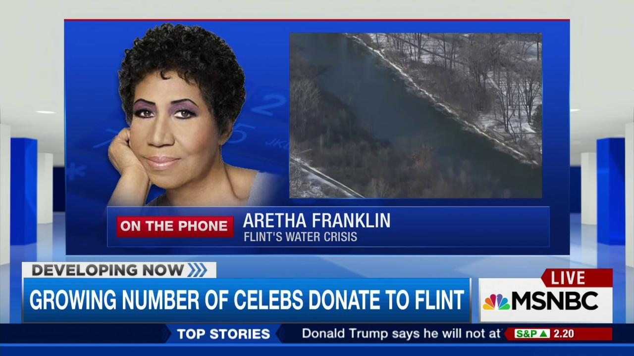 Aretha reaching out to the 'Motown family'