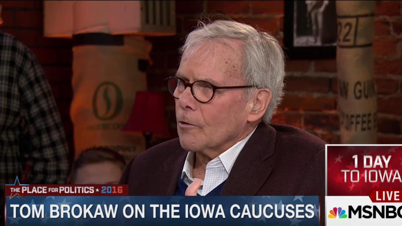 Brokaw on the power of the Iowa caucuses