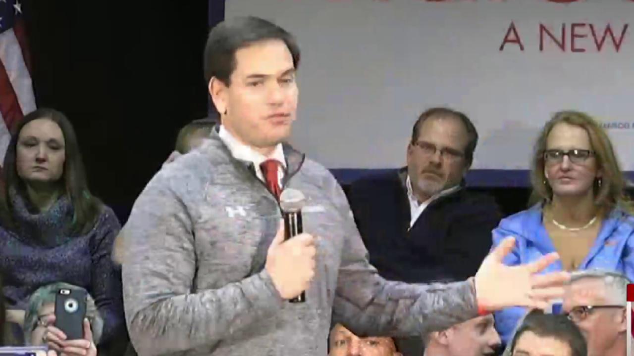 Cruz-Rubio Rivalry Intensifies