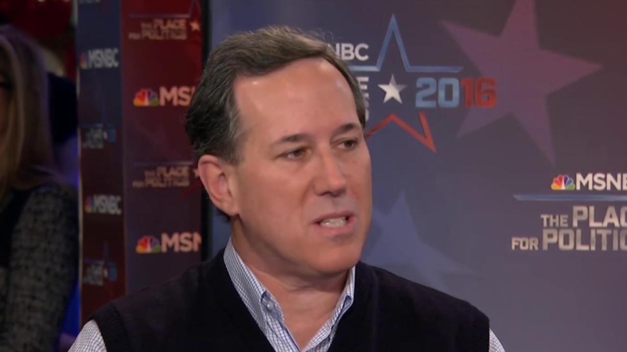 Santorum stays optimistic about Iowa odds