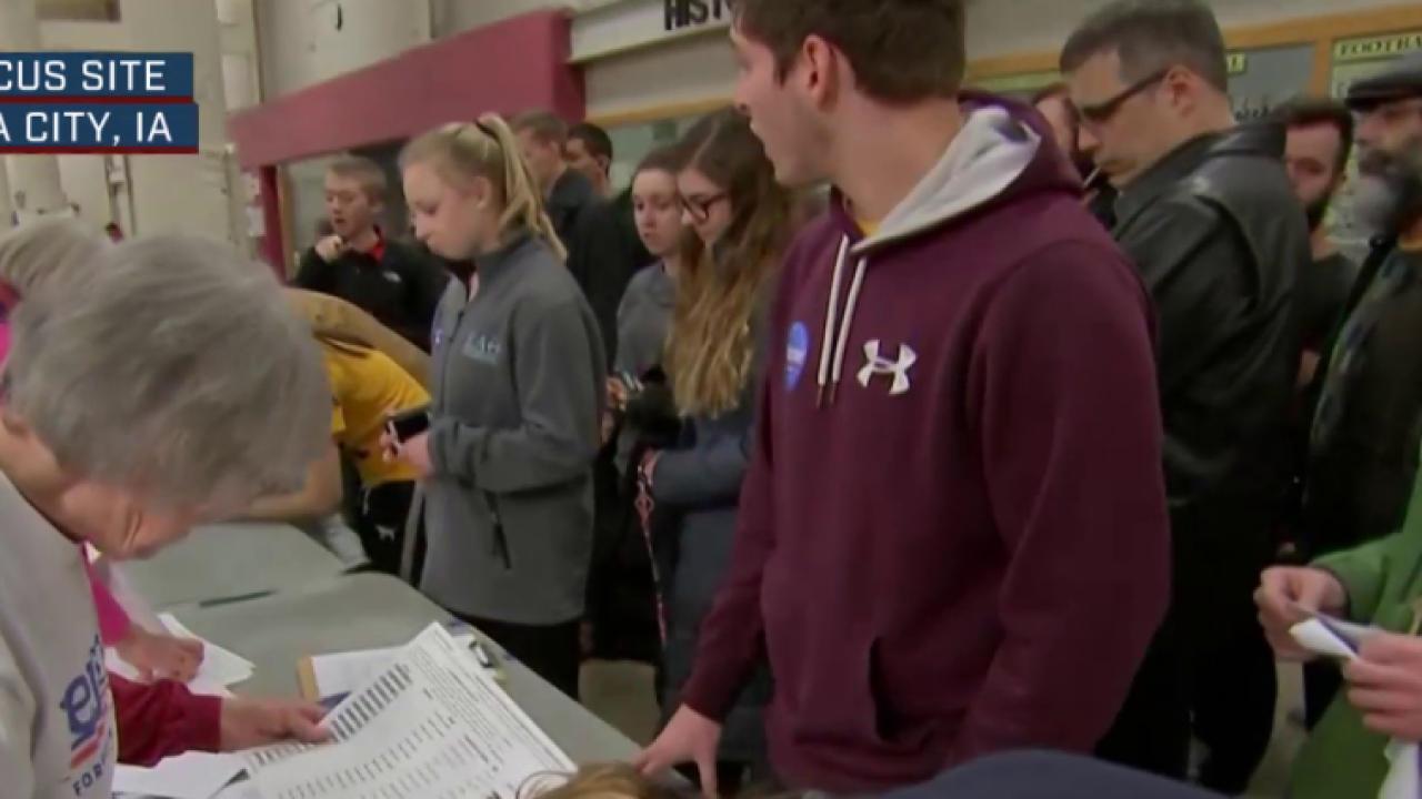 Caucus sites filling up quickly in Iowa