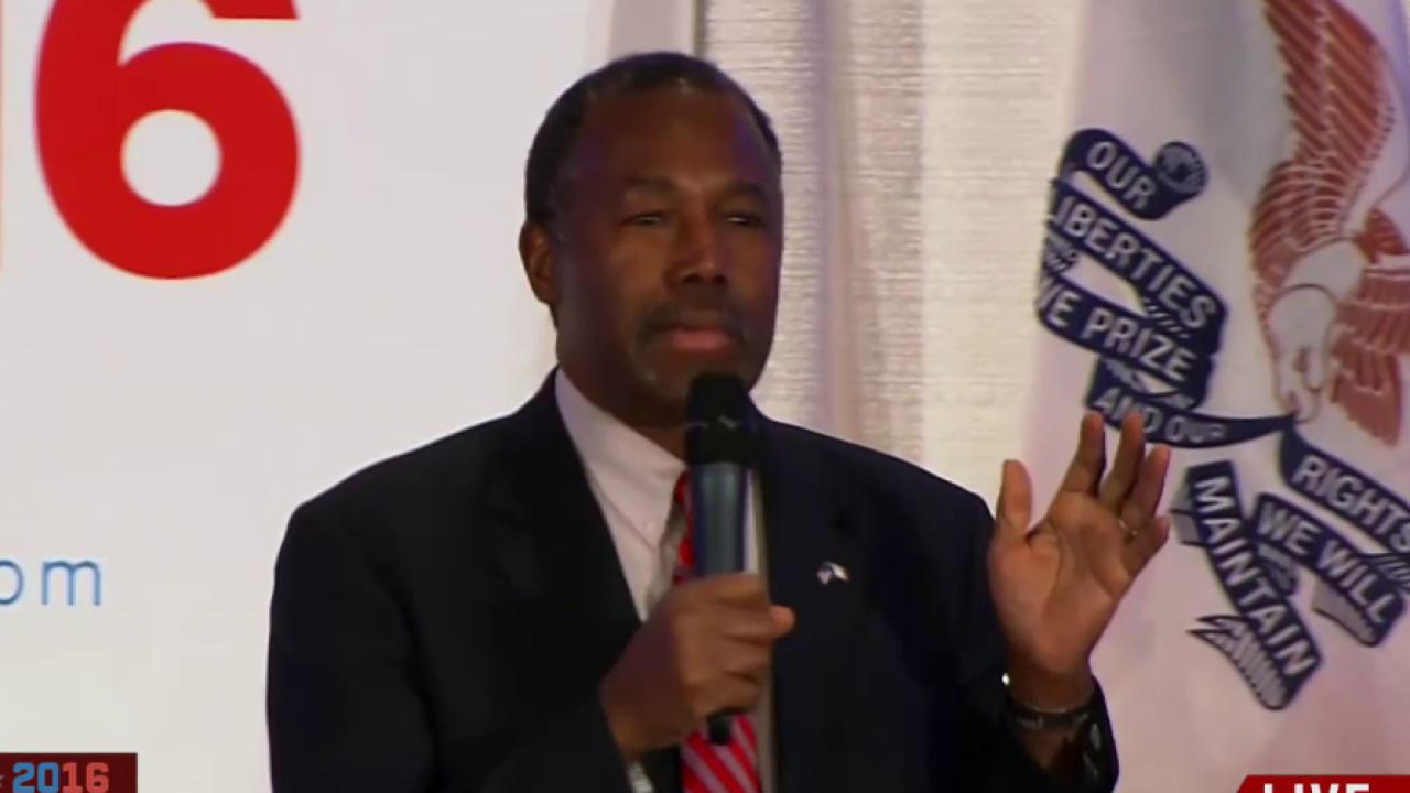 Carson campaign accuses Cruz of sabotage