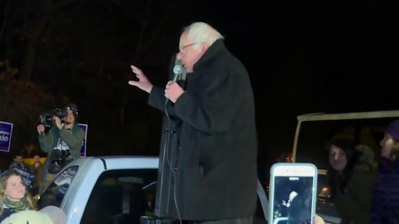 Sanders camp: 'No decision' on contesting...