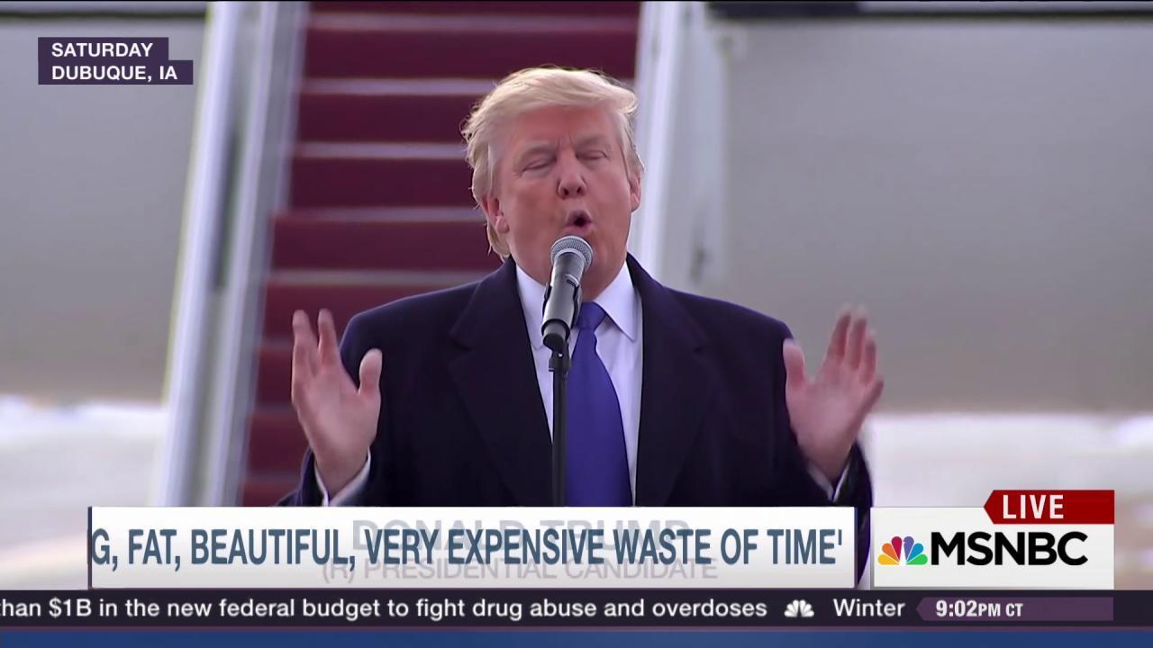 Donald Trump struggles to meet expectations