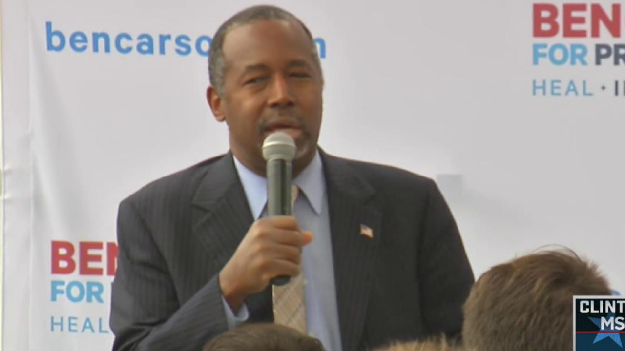 Carson Calls on Cruz to 'Take Action'
