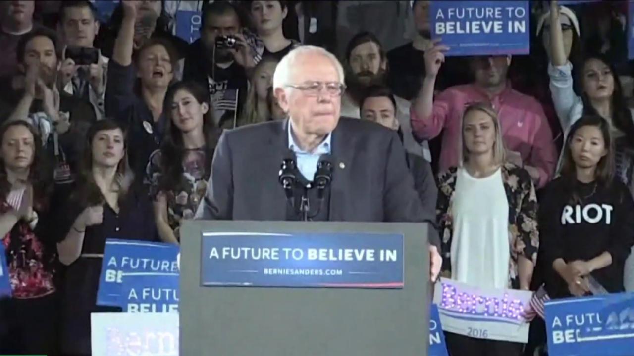 Bernie Sanders' climate platform is to...
