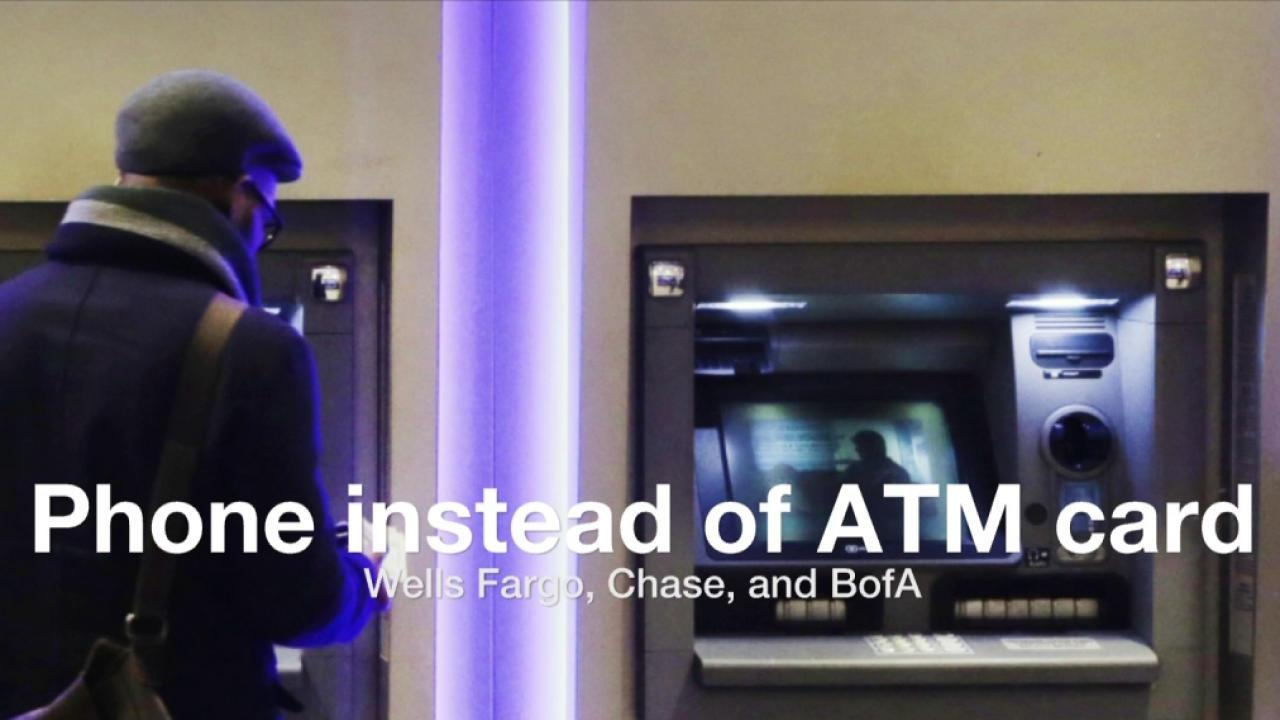 ATMs will soon work with smartphones