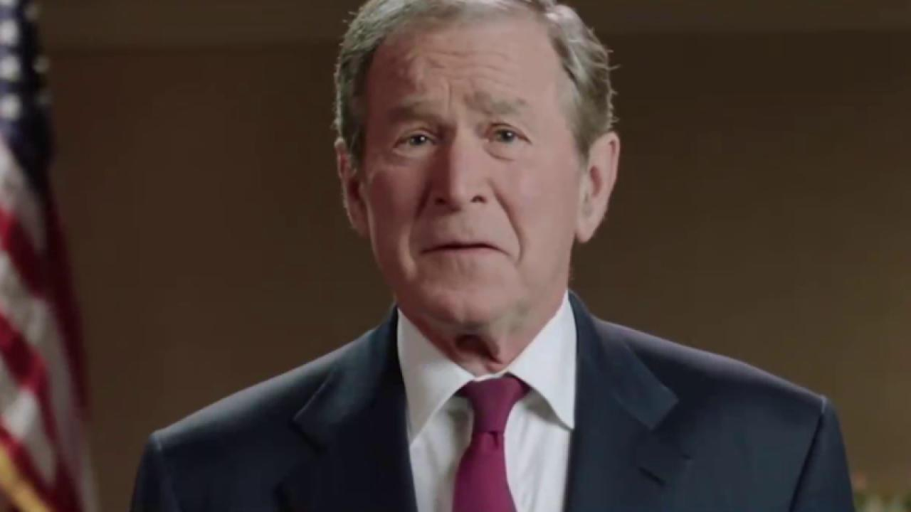 New Jeb super-PAC ad features George