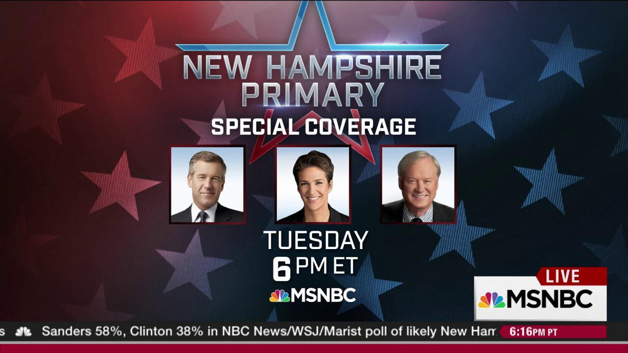 The Rachel Maddow Show moves to New Hampshire