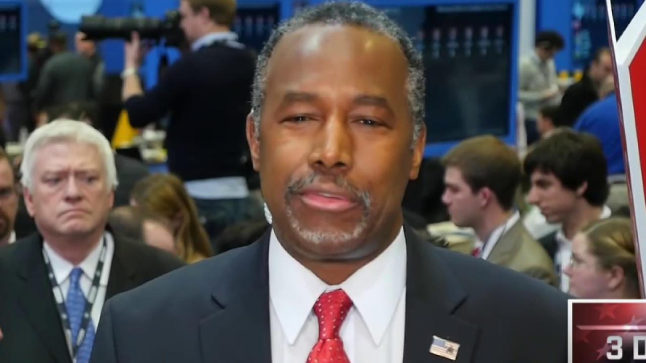 Carson post-debate: Rubio went to comfort...