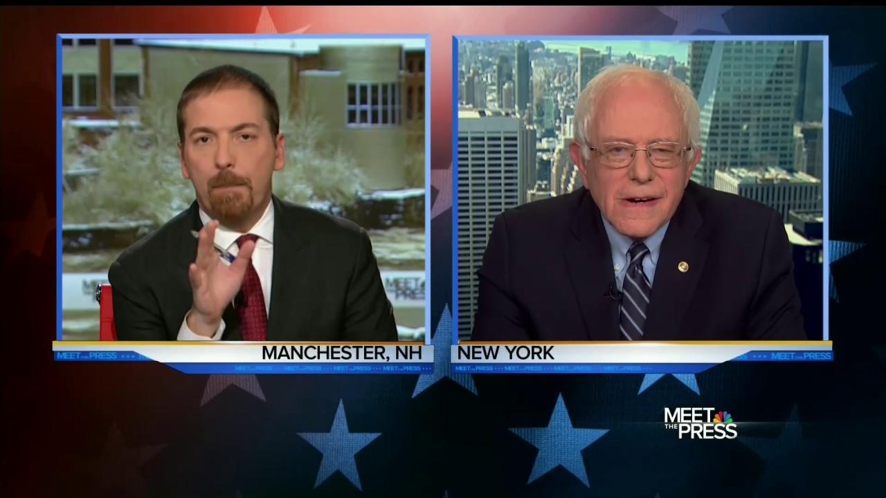 Sanders Defends His Foreign Policy Credentials