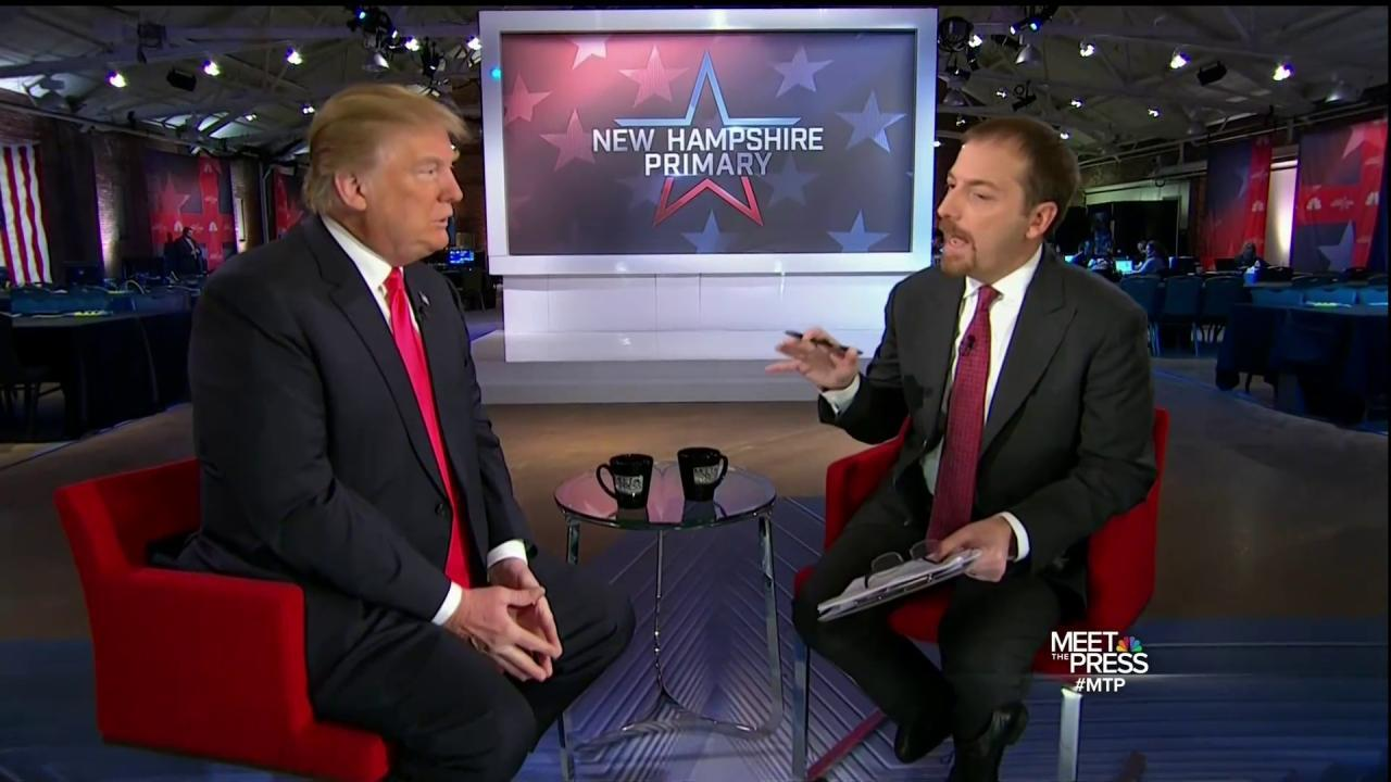 Trump: I Like this System Much Better in New Hampshire