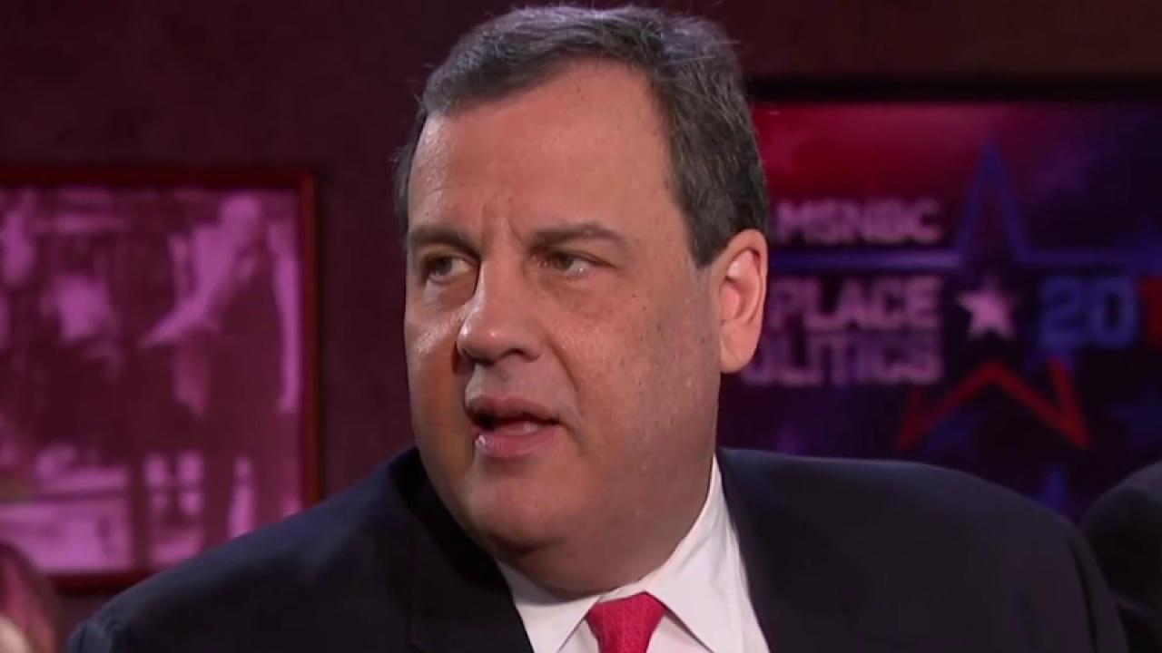 Christie: My attack on Rubio was not planned