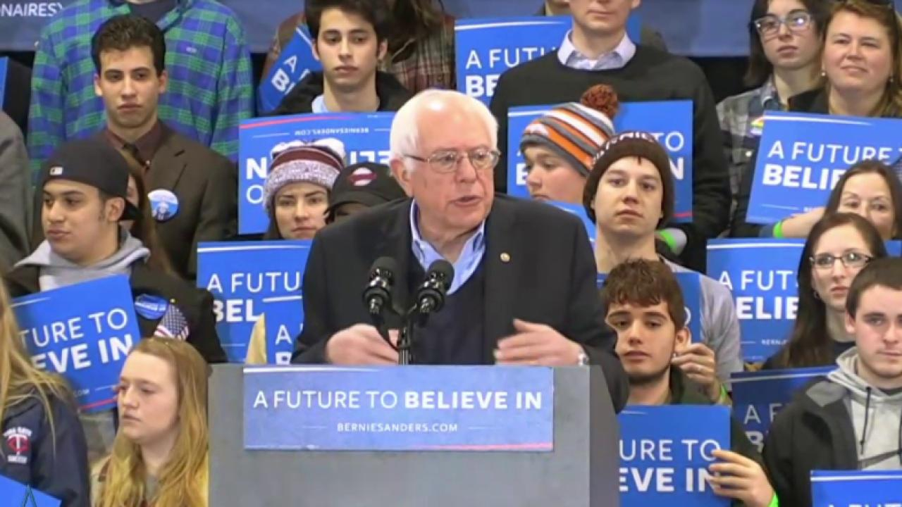 Sanders campaign preps for NH home stretch