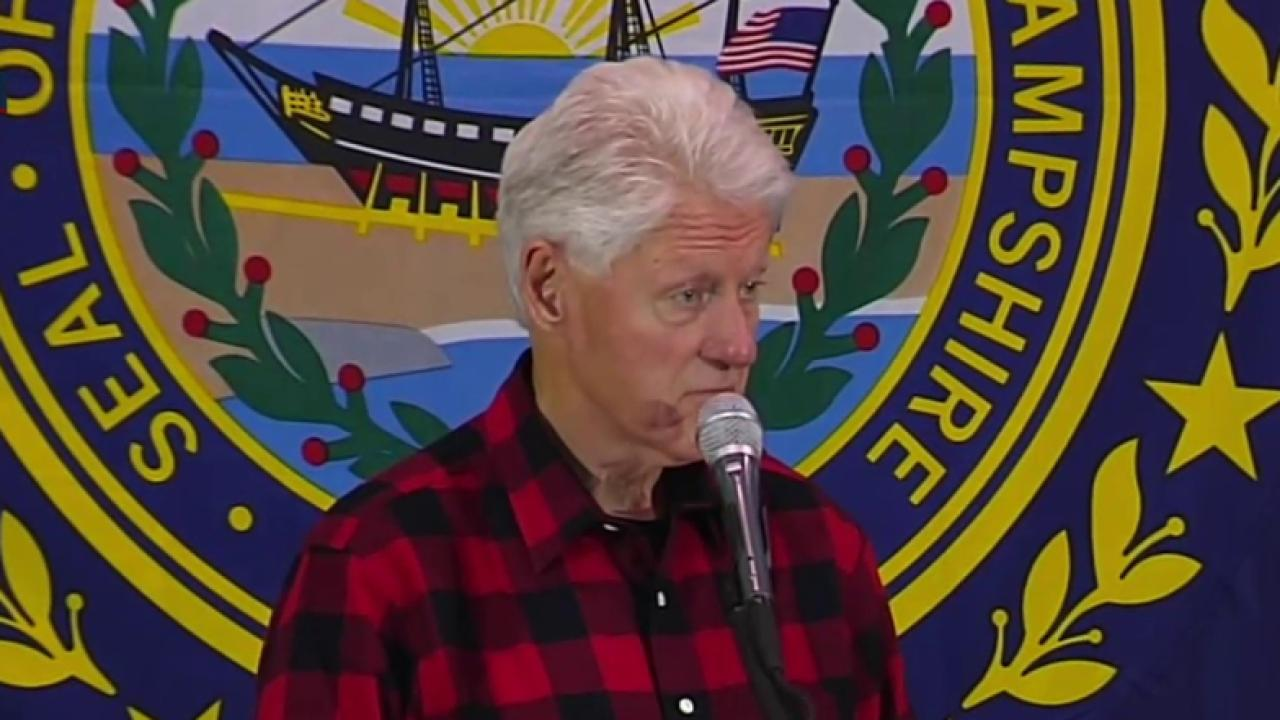Bill Clinton goes after Bernie Sanders