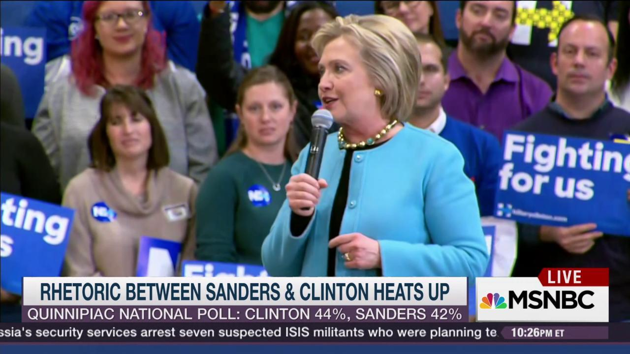 Sanders holds 16-pt lead before NH primary