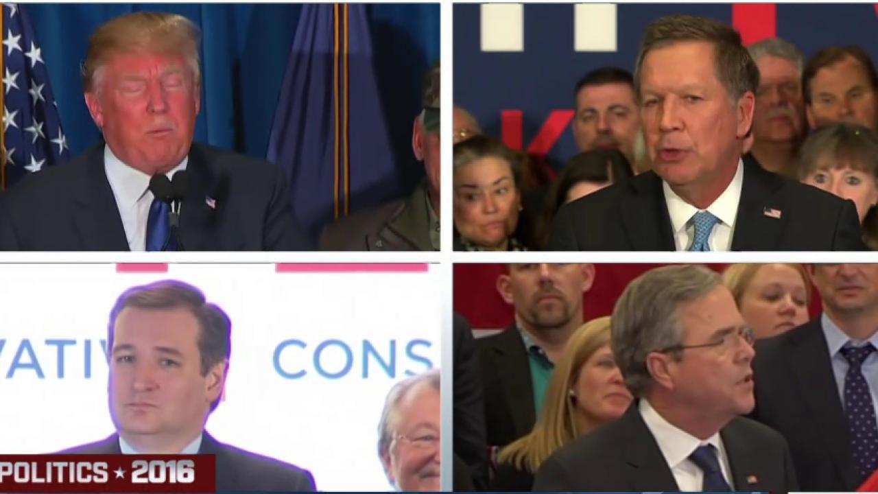 GOP focus shifts to South Carolina