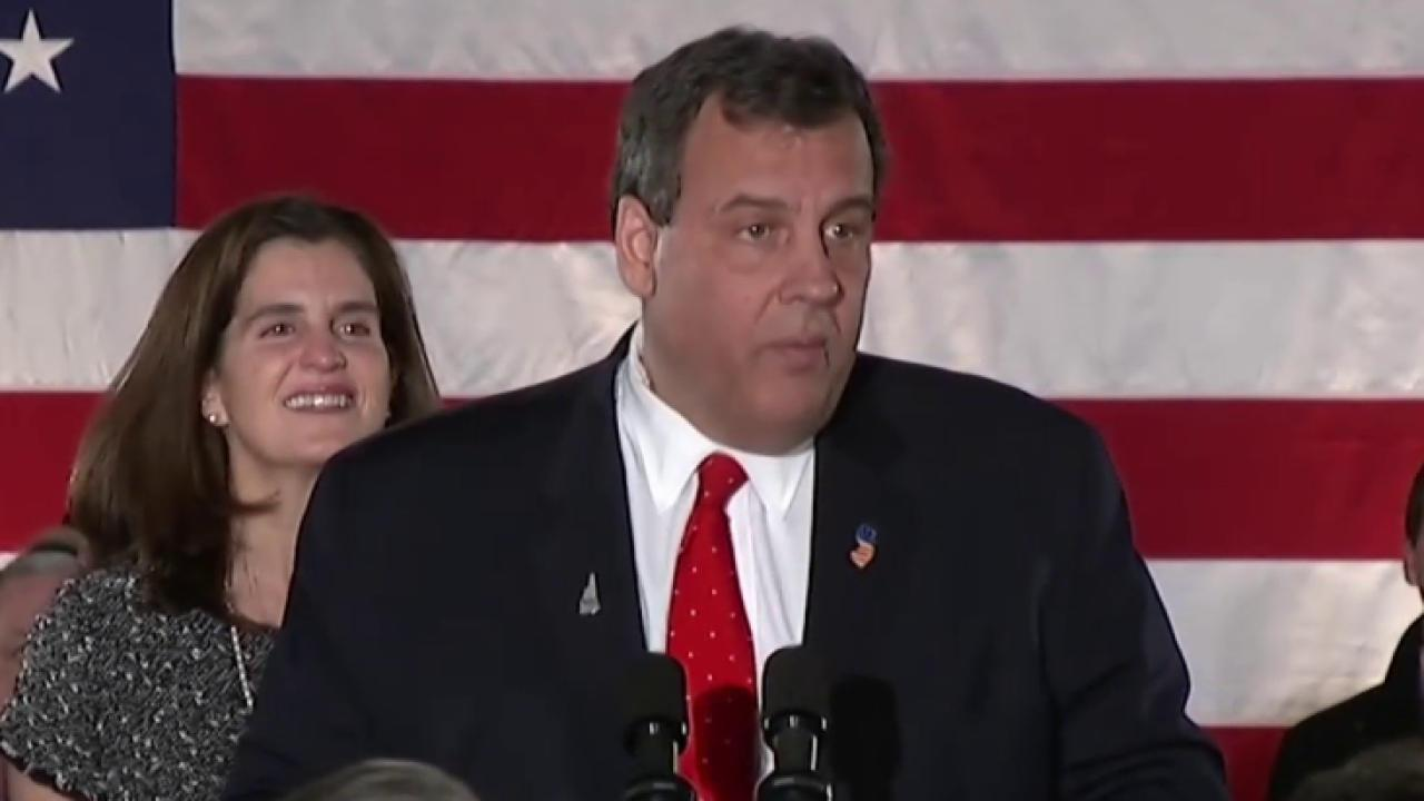 Christie evaluating his next steps in NJ