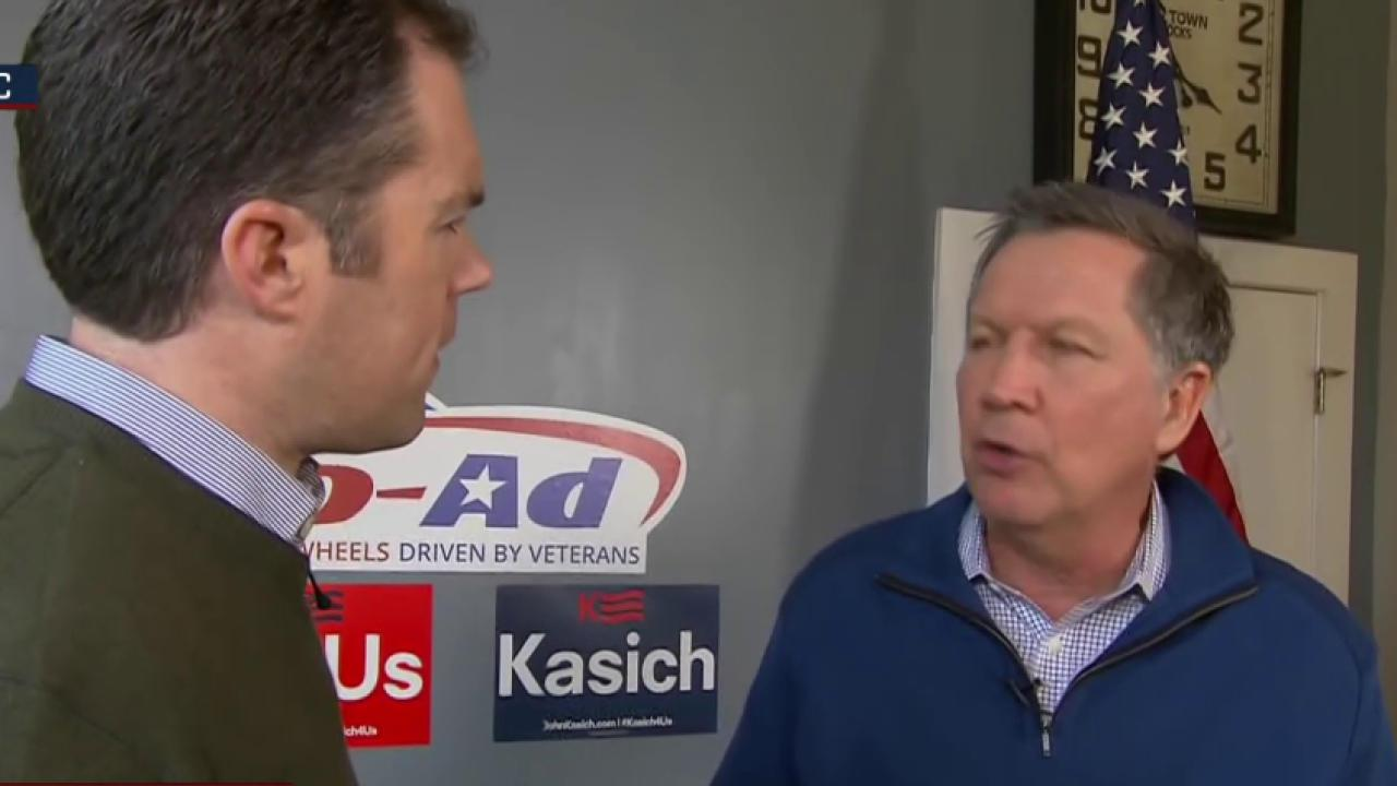 Kasich: 'I have a right to defend myself'