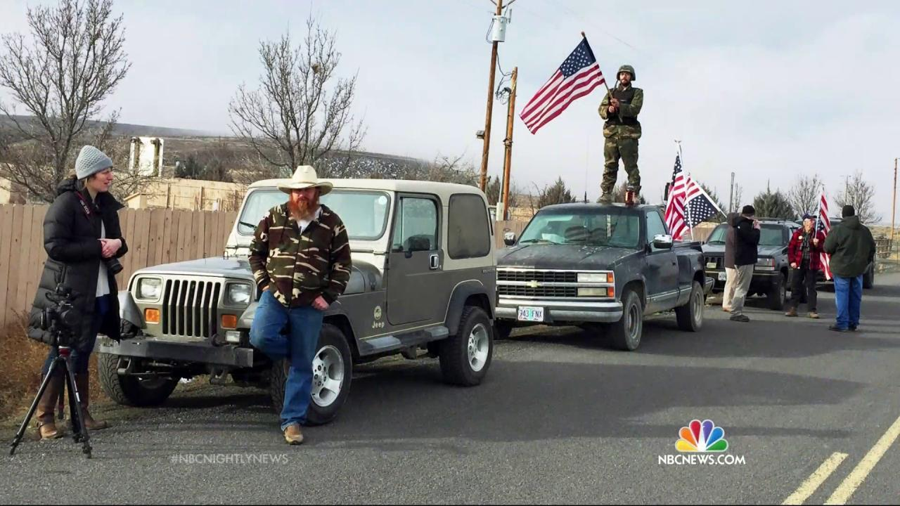 Four Remaining Oregon Occupiers, Surrounded by FBI, Surrender