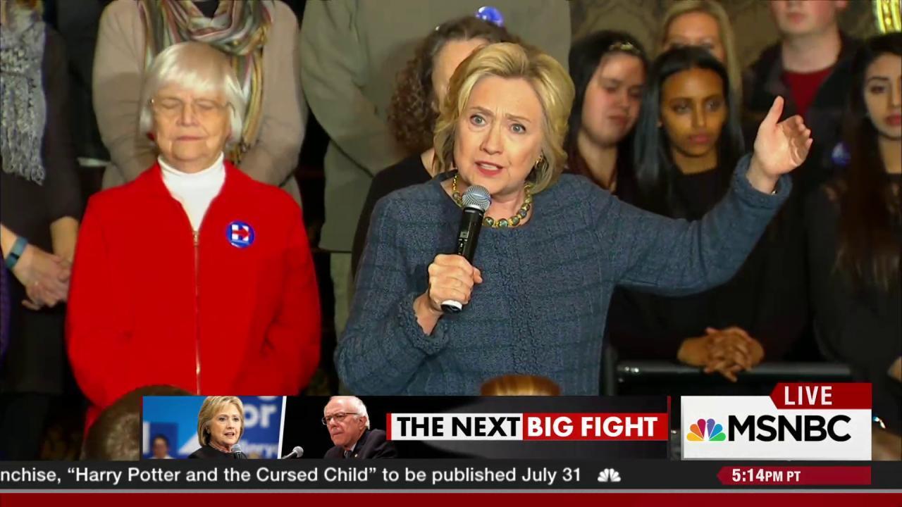 Sanders vs. Clinton in Nevada