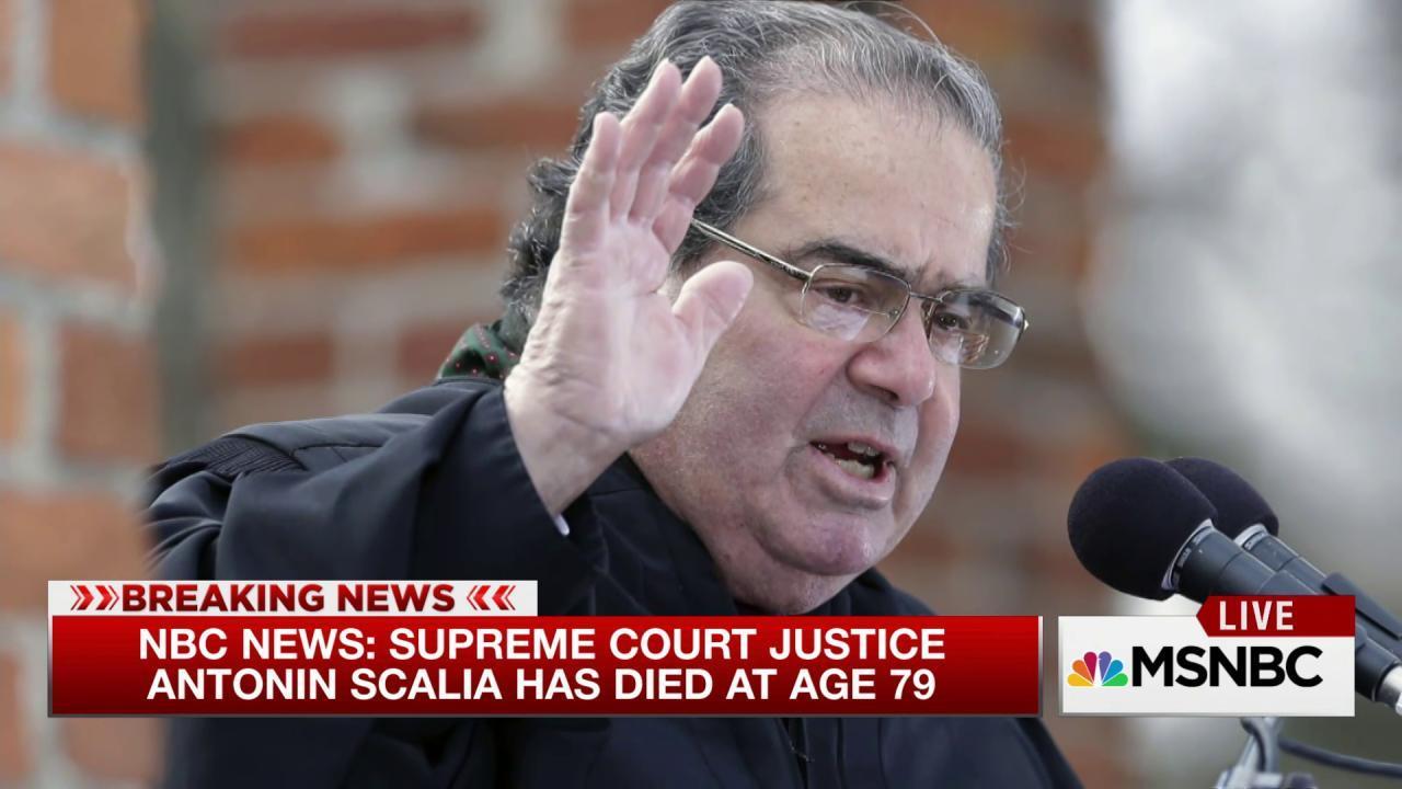 Supreme Court Justice Scalia dead at 79