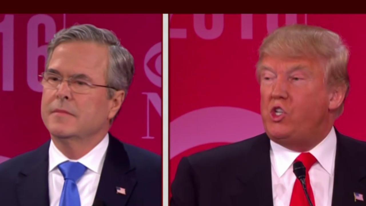 Trump, Bush clash over Iraq War, 9/11 in...