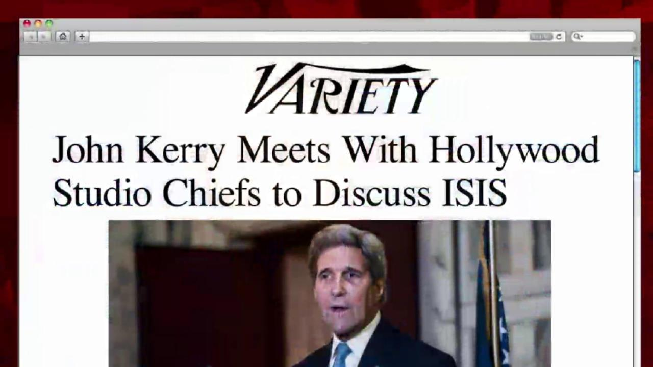 Kerry turns to Hollywood to help fight ISIS