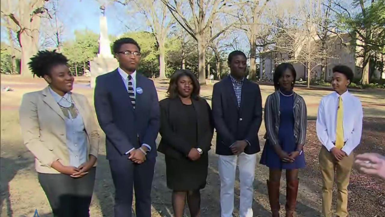 Who are the youth in South Carolina voting...