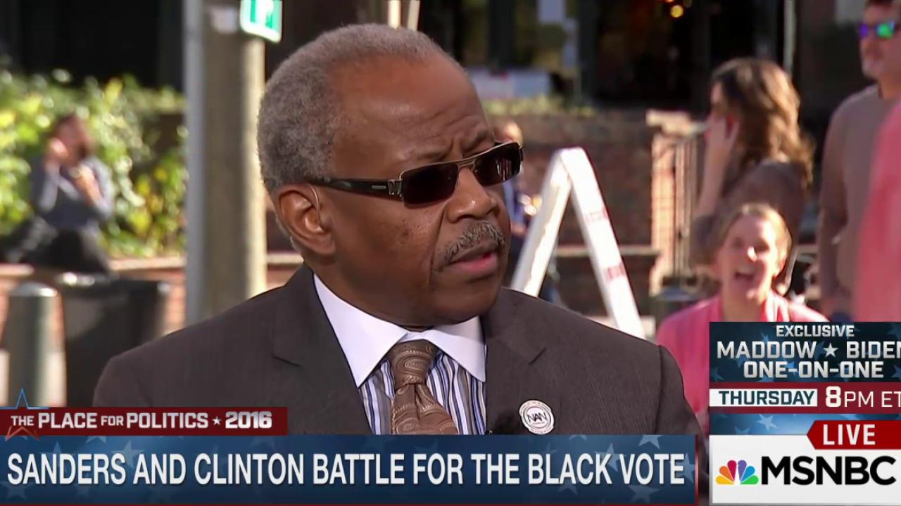 Rev. Rivers: Black vote is taken for granted
