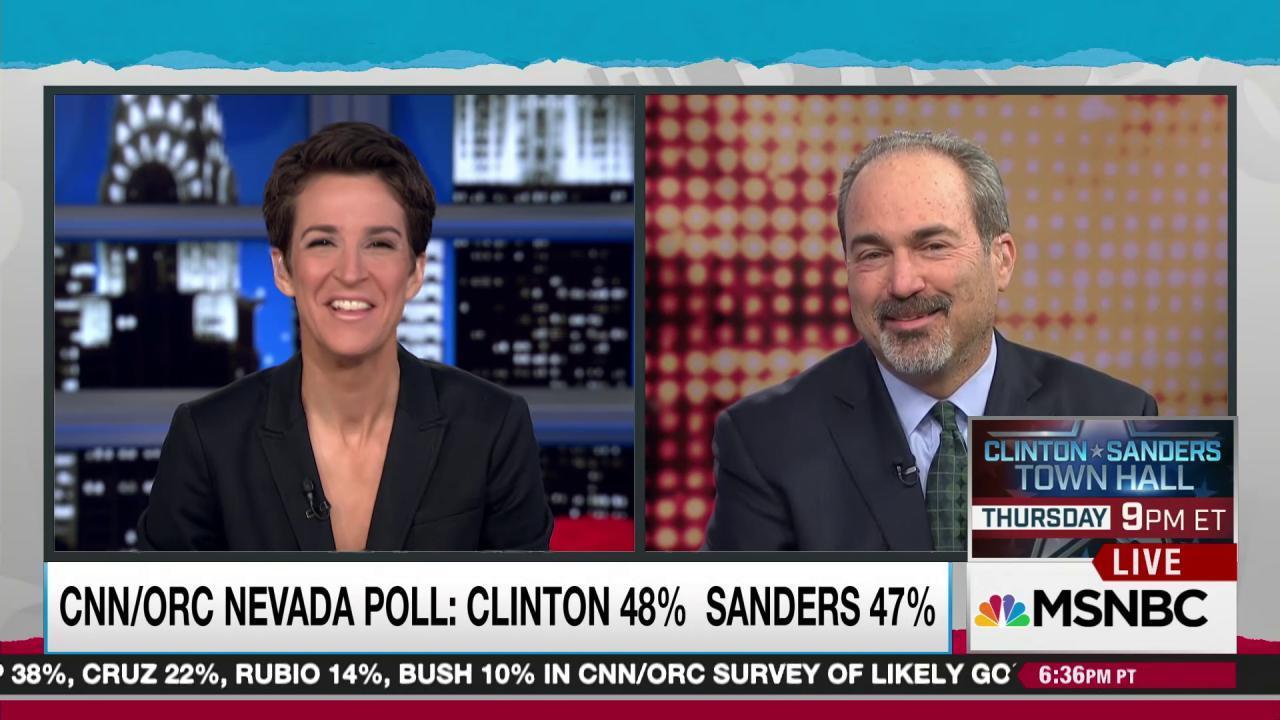 Data suggest close Democratic race in Nevada