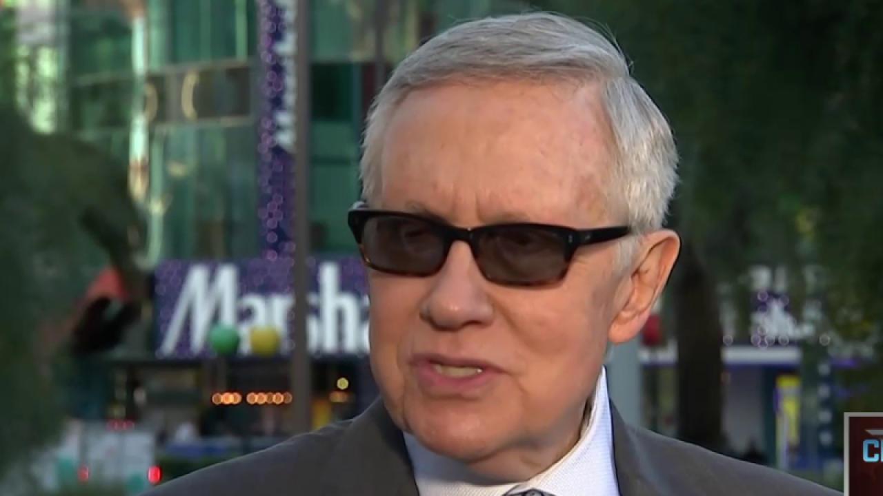 Reid talks upcoming Nevada Democratic...