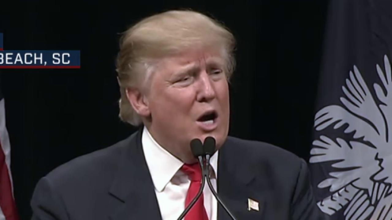 Trump's lead shrinks in South Carolina