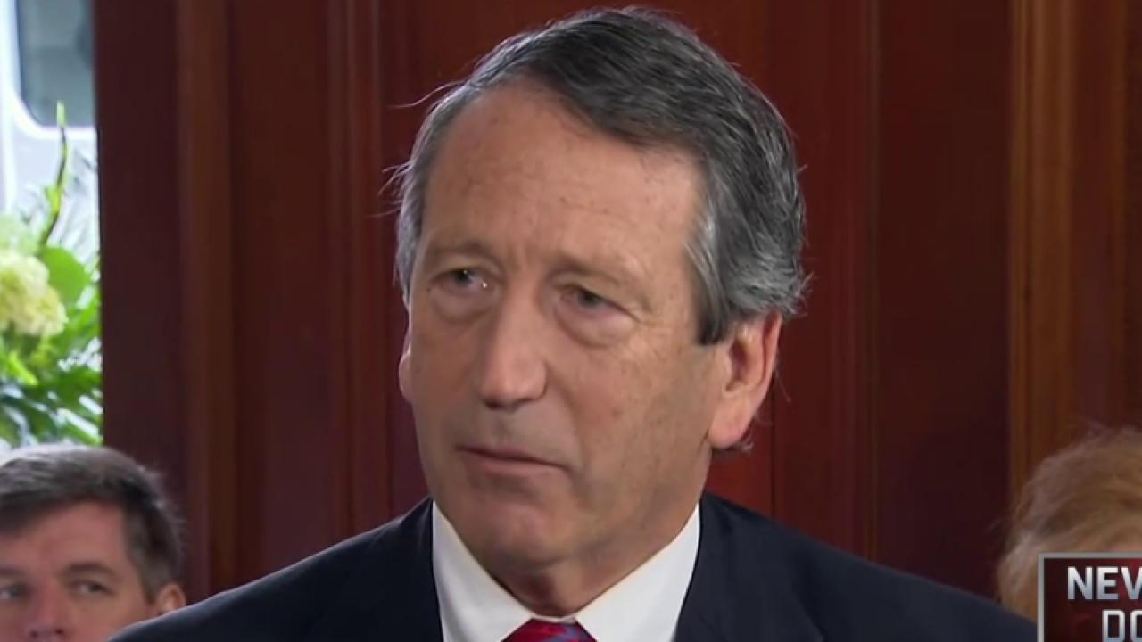 Rep. Sanford: 'Somebody's got to stop Trump'