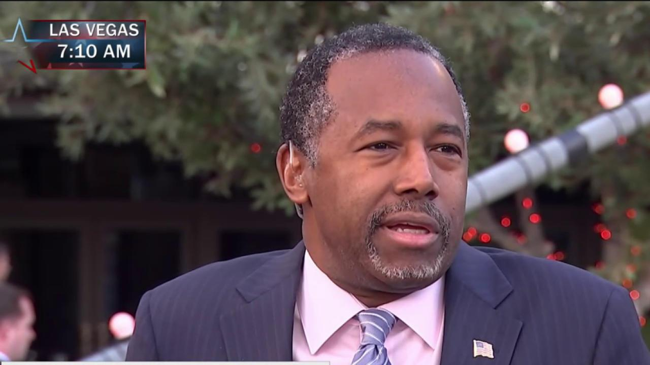 Carson: I don't support closing Guantanamo...