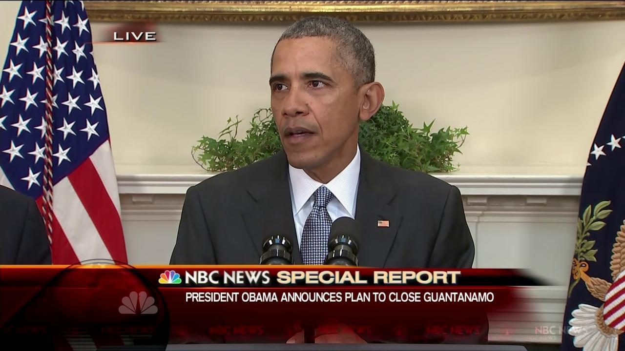 Will Obama Use Executive Order to Close Guantanamo Bay? - NBC News