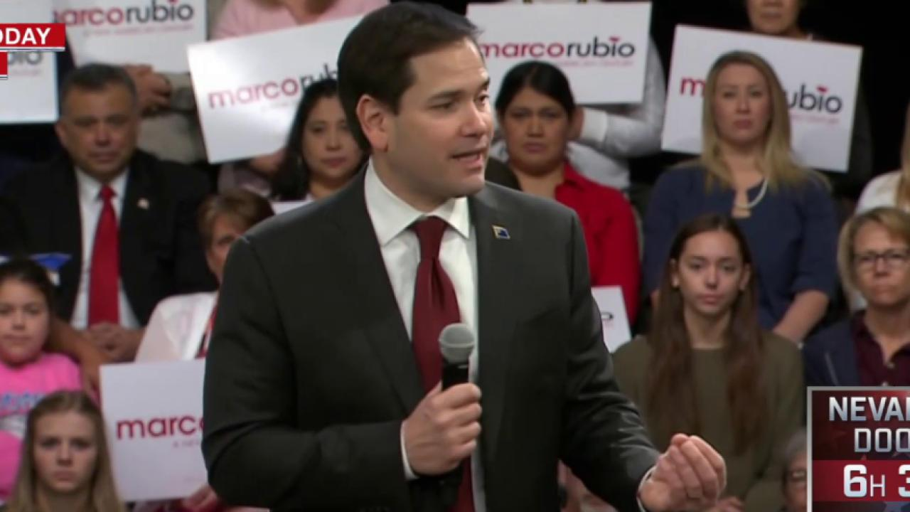 Rubio, Cruz Fight to Become Trump Alternative