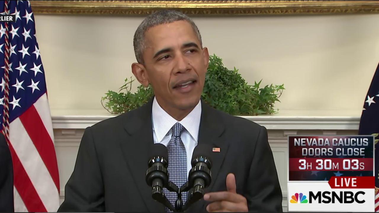 President Obama's closing arguments